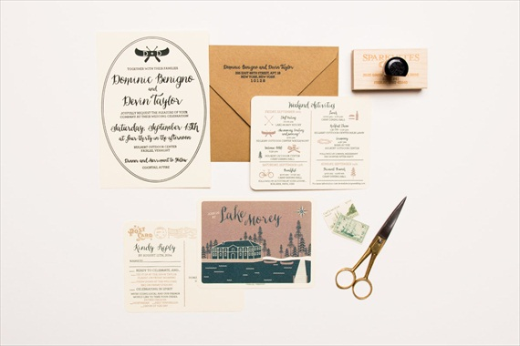 Camping Wedding Invitation by Sparkvites