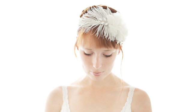 feather headband by sibo designs