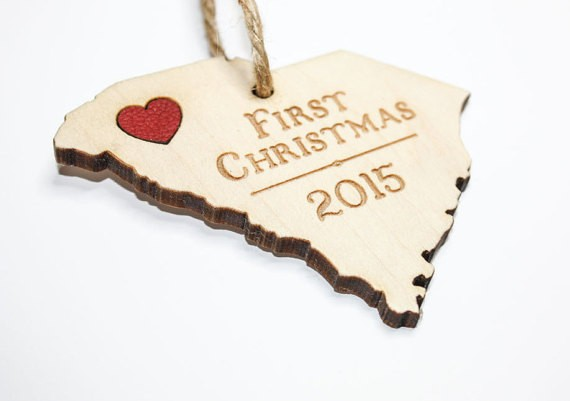 first christmas state ornament by onceagainsam