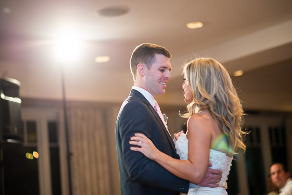 First Dance Mistakes to Avoid (photo: Emily Clack, cute couple first #wedding dance)