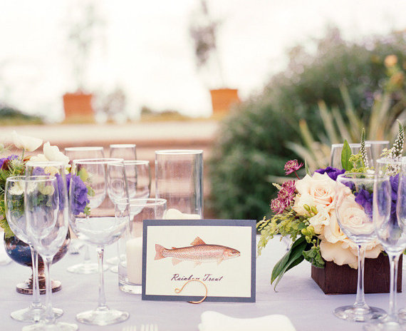 Wedding Table Name Ideas (via EmmalineBride) by homes and weddings, photo by brandon david