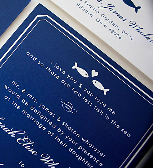 If You Are Interested In Fishing Wedding Invitations Re Luck We Ve Found Two Suites That Ll Love