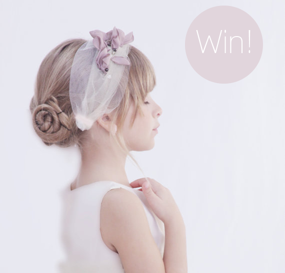 Flower Girl Headpiece - Giveaway!