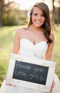 forever your little girl gift idea for father of the bride