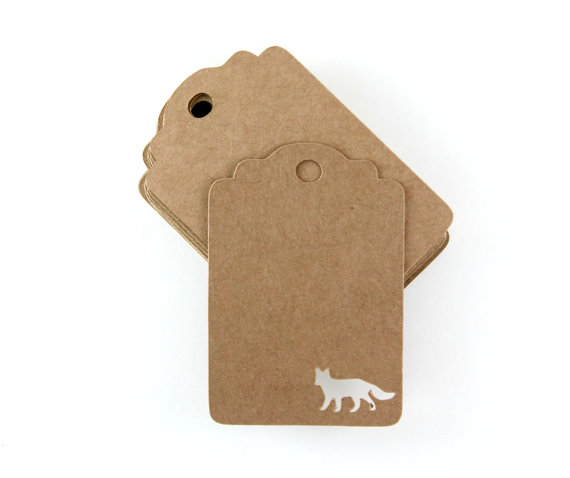fox favor tags by party medley