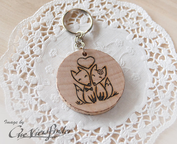 fox wine charm by oneviewfinder