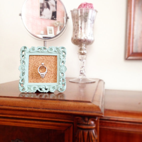 framed ring holder