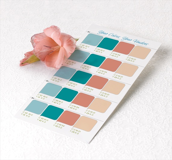 5 best resources for picking your wedding colors