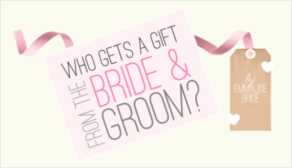 Theme of the day:parents wedding gifts from bride and groom