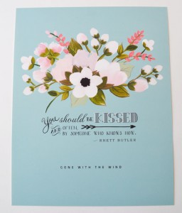 gone with the wind | #wedding Wedding Poster Ideas for (Easy!) Decor