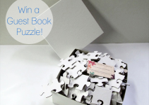 guest book puzzle giveaway