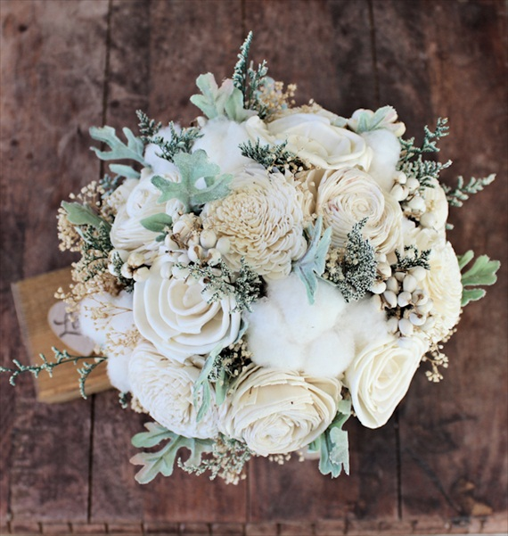 handmade wedding bouquet