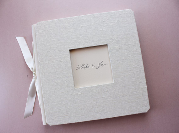 handmade wedding guest book (alternative journals) via The Marketplace at EmmalineBride.com