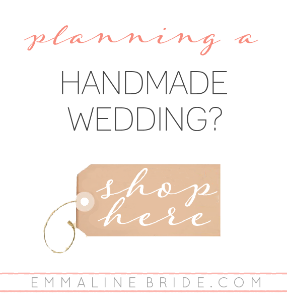 handmade wedding shop EMMALINE BRIDE