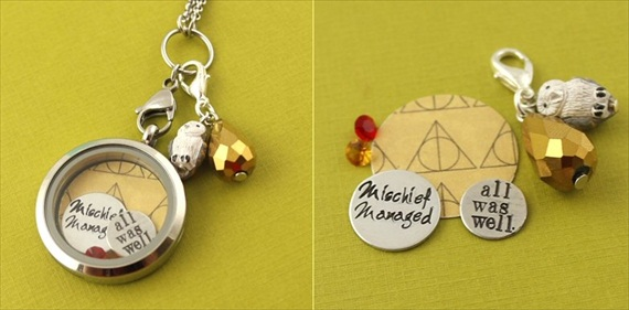 harry potter floating locket | Offbeat Wedding Theme:  Floating Lockets