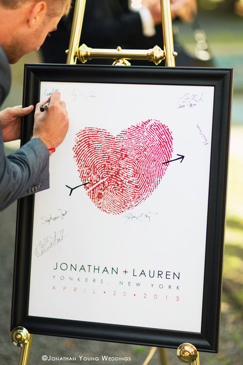 thumbprint wedding ideas | http://emmalinebride.com/gifts/thumbprint-wedding/