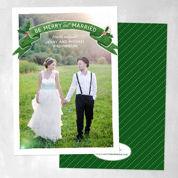 holiday-cards-newlyweds