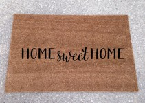 home sweet home doormat etsy