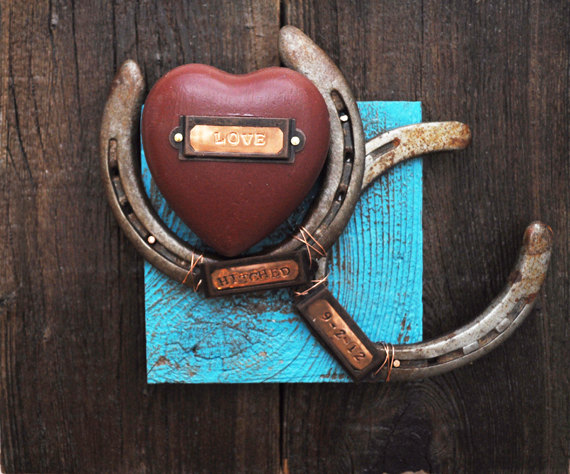 wedding gift ideas from a to z - lucky horseshoes by heartifacts gallery