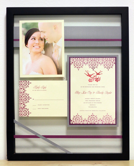 How To Turn Your Wedding Invitation Into A Keepsake