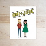 illustrated wedding invitation - 5 things to know about wedding invitations
