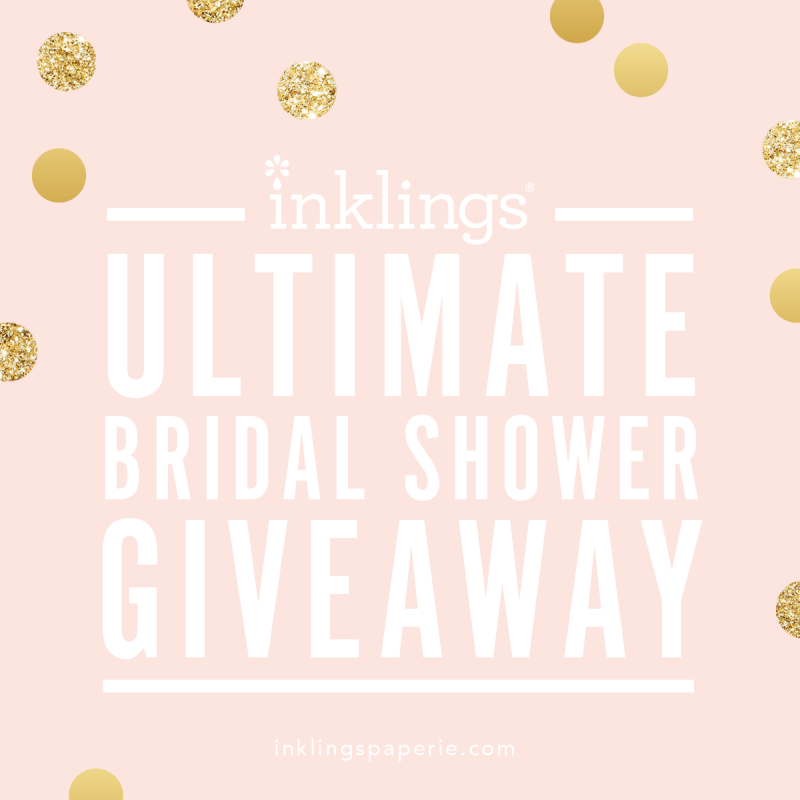 Giveaway:  Win Bridal Shower Games, Invitations + More!
