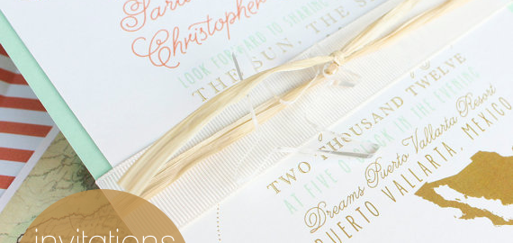 invitations for destination weddings