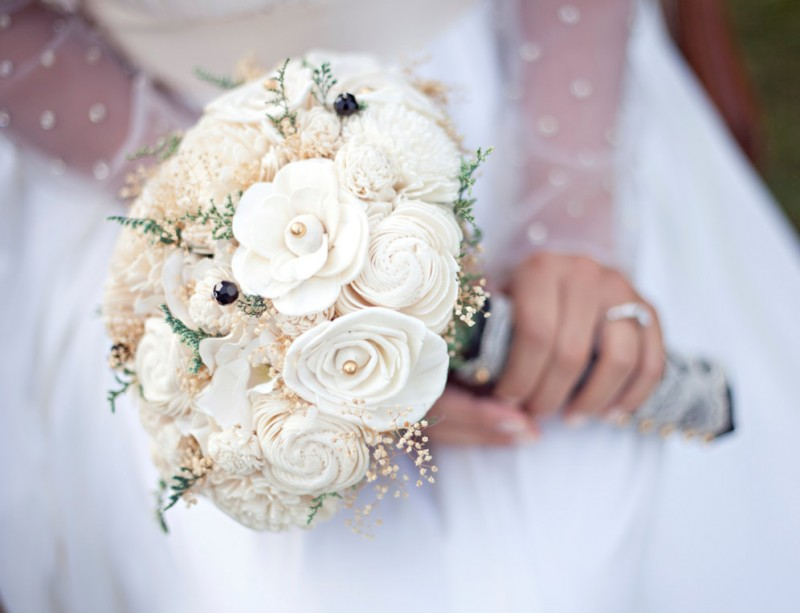 ivory flower bouquet