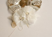 Floral Wedding Headpiece Handmade by FancieStrands