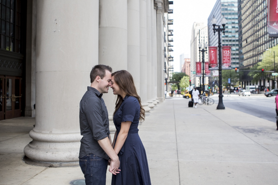 Rebecca Borg Photography - Downtown Chicago Engagement