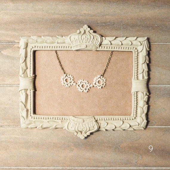 21 Stylish Bohemian Wedding Ideas (lace bohemian necklace: decoromana)