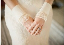 lace cuffs winter - lace accessories weddings
