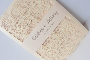 laser cut wedding invitations