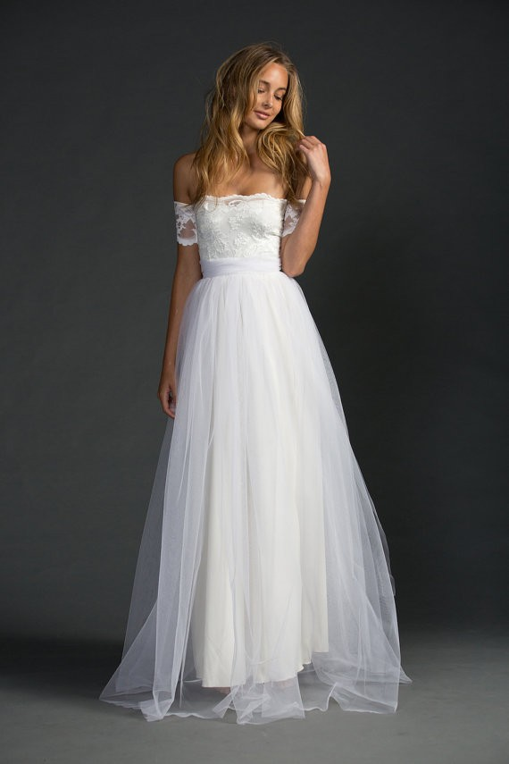 lace wedding dress by grace loves lace