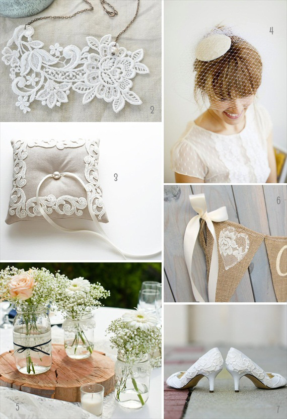 Lace Wedding Ideas