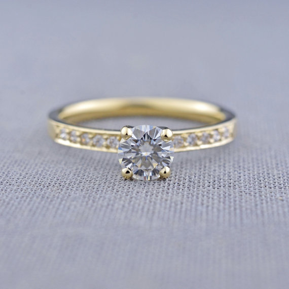 lily emme jewelry bead set moissanite engagement ring