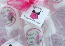 lotion bridal shower favor