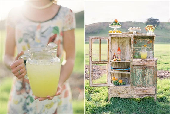 Wedding Drink Station Ideas - margarita bar