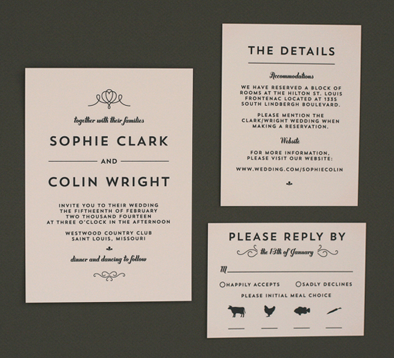 Modern Wedding Invite Wording: Modern Wedding Invitations (+ $200 Giveaway!)