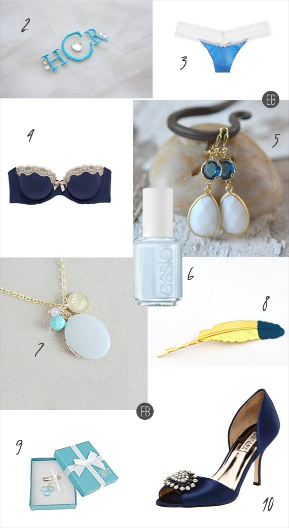 18 Modern Ideas for Something Blue