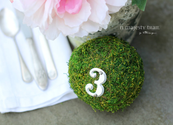 moss balls table numbers