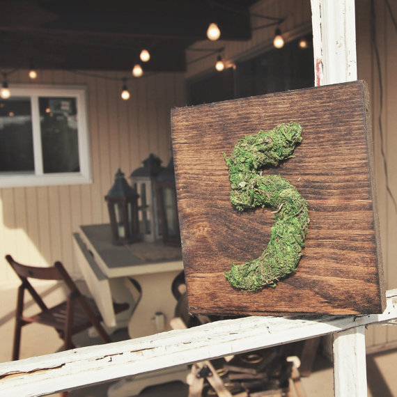 moss table number