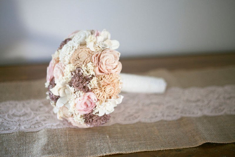 natural forever floral bouquet
