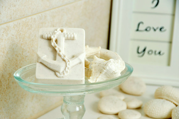 nautical wedding favors soap