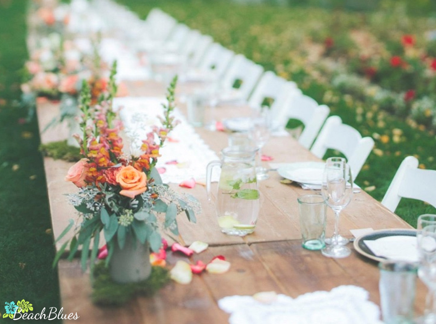 Where To Put Bouquet During Reception?