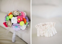 paper-wedding-bouquet-garter