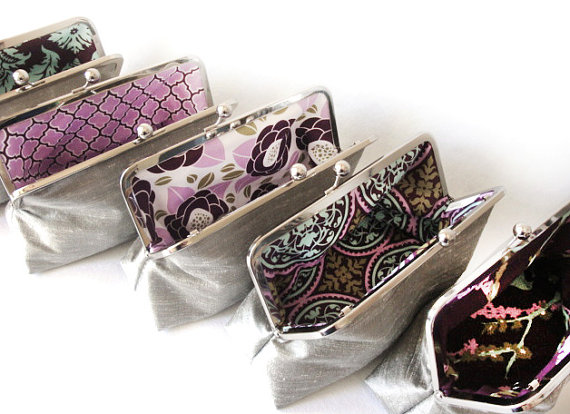 personalize clutch with patterns