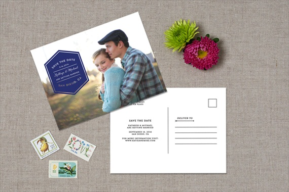 Photo - Spring Save the Dates (by Crafty Pie Press)