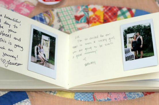 polaroid guest book alternative