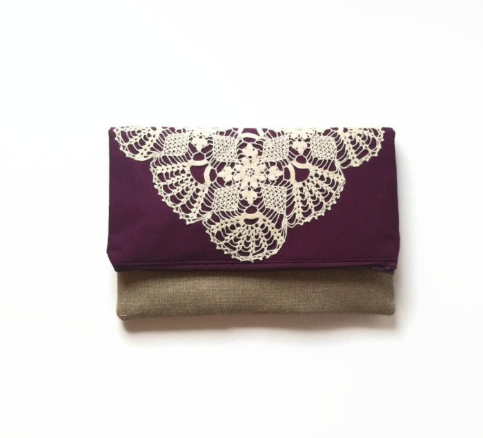 purple-lace-clutch